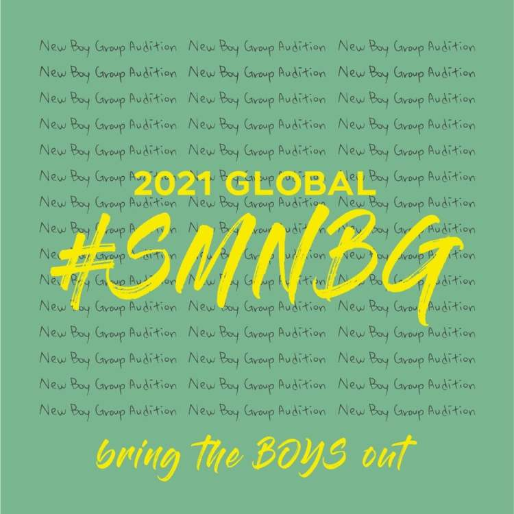 2021 Global SM New Boy Group Audition