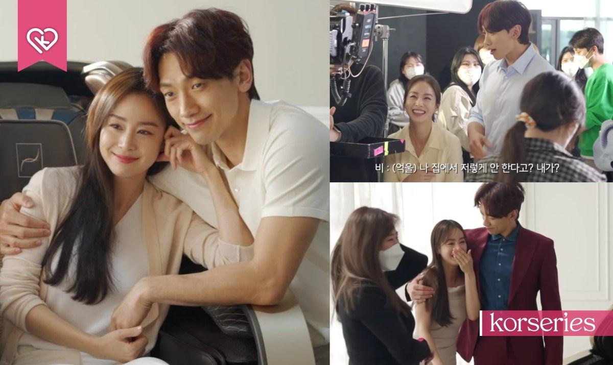 คู่รักคนดังเกาหลี 'เรน-คิมแทฮี' กับเบื้องหลังการถ่ายโฆษณาด้วยกันที่ทำเอายิ้มไม่หุบ
