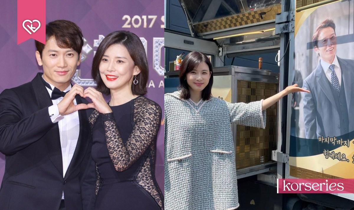 จีซอง ส่งกำลังใจให้ภรรยา อีโบยอง ถึงกองถ่ายซีรีส์ Mine