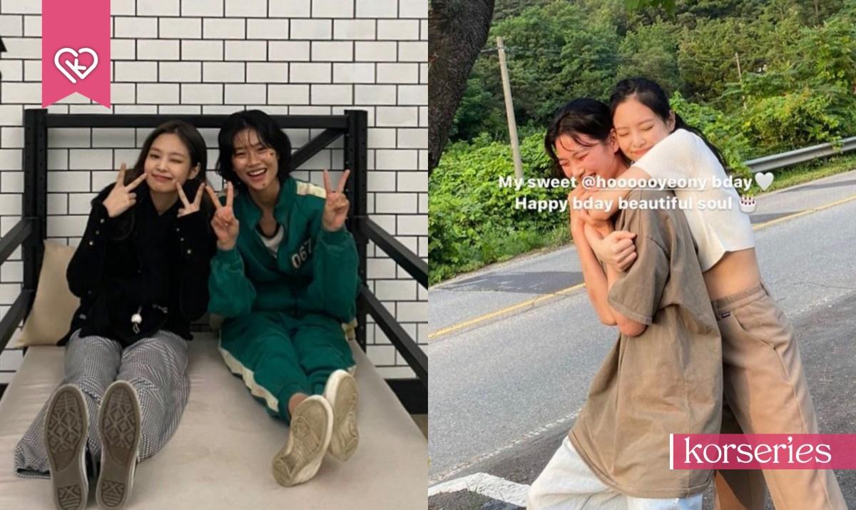 ปลื้มมิตรภาพสุดน่ารัก 'เจนนี่ BLACKPINK' กับเพื่อนสนิท 'จองโฮยอน' นักแสดง Squid Game