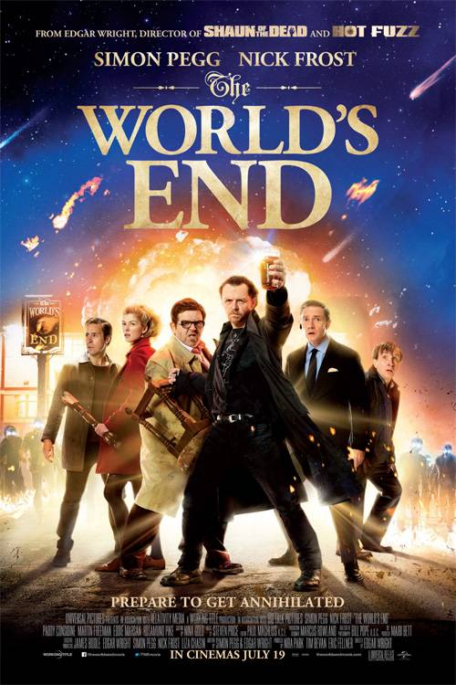 Image result for THE WORLD'S END ( 2013 ) POSTER
