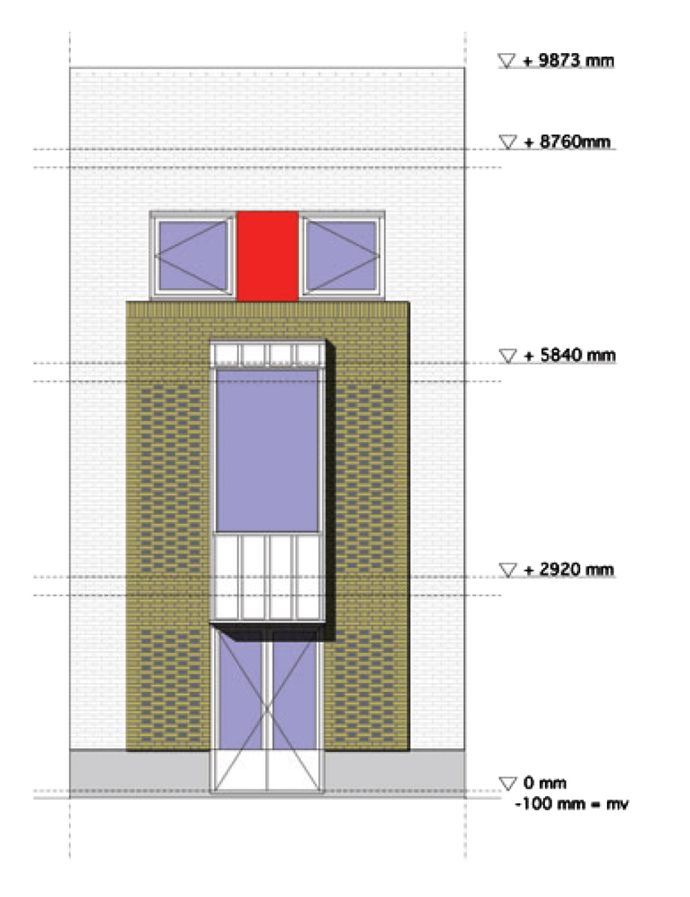 medium resolution of the plan of our house is inspired by some essential characteristics of mediterranean domestic architecture symmetry of the plan direct relationship