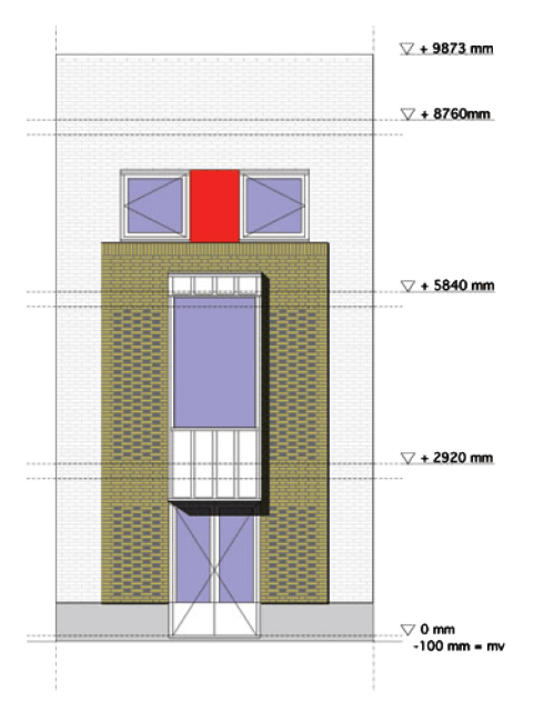small resolution of the plan of our house is inspired by some essential characteristics of mediterranean domestic architecture symmetry of the plan direct relationship