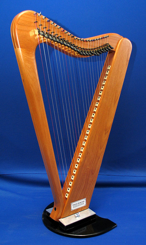24 string electric harp alder