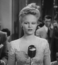 A very young Peggy Lee