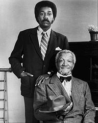 """Redd Foxx and Demod Wilson Sandford and Son """"This is the BIG one!"""