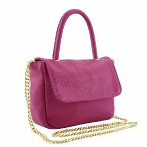 pinkki-käsilaukku