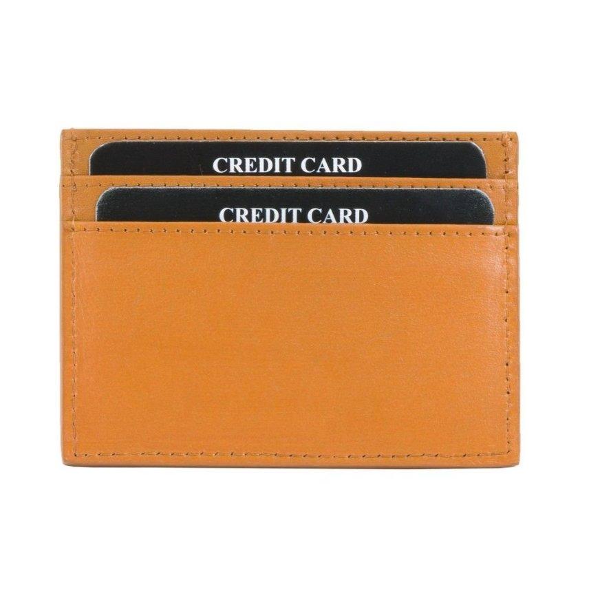 RFID Blocking Exclusive Handmade Genuine Leather Credit ...