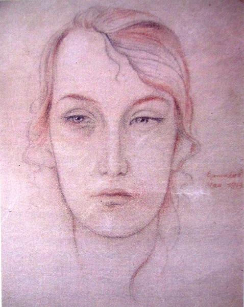 Василь Єрмілов. Катерина Неймаєр. 1919 р.