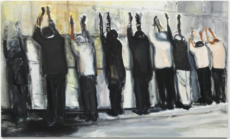Wall-Weeping-Marlene-Dumas-Against-the-Wall-David-Zwirner