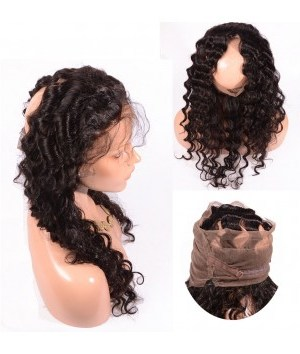 LACE FRONTAL 360 BOUCLE