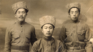 Korean soldiers in Far East Russia, c. 1930  / Koryo Saram