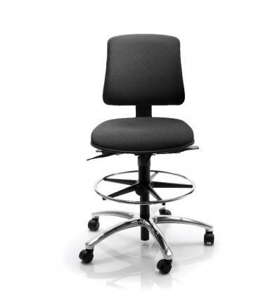 Industrial Chair For High Counter Work Ergonomic Lab