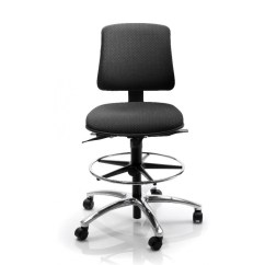 Living Room Chair With Good Lumbar Support How To Decorate Walls Industrial For High Counter Work, Ergonomic Lab ...
