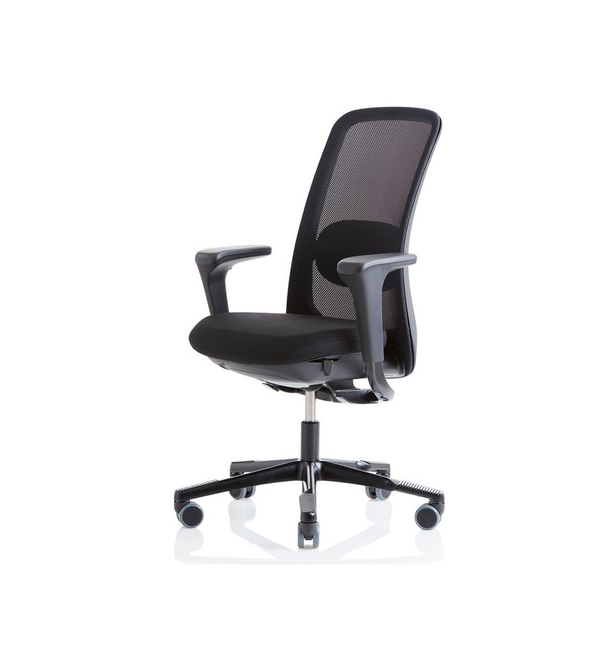 living room chair with good lumbar support red and white hag sofi mesh - best ergonomic office 2017