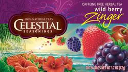 Celestial Seasonings Kosher Wild Berry Zinger 20 Bag