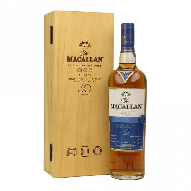 Macallan 30 Year Old - Fine Oak - Spirits from The Grapevine UK