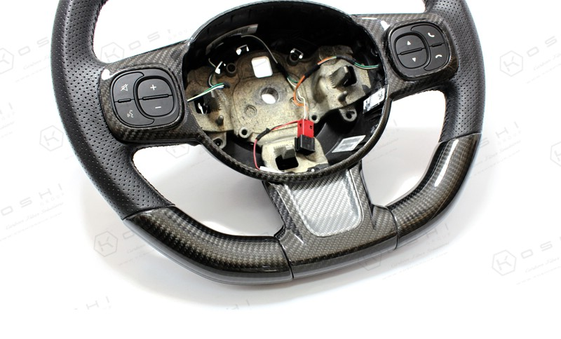 Abarth 595 2016 Steering Wheel Trim | Koshi Group LLC