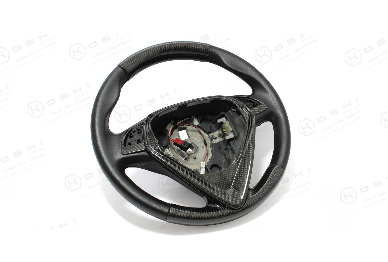 Carbon Fiber Alfa Romeo Giulietta My 2014 Upper Part Steering Wheel Wheels