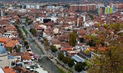 Prizren Kosovo from Kalaja