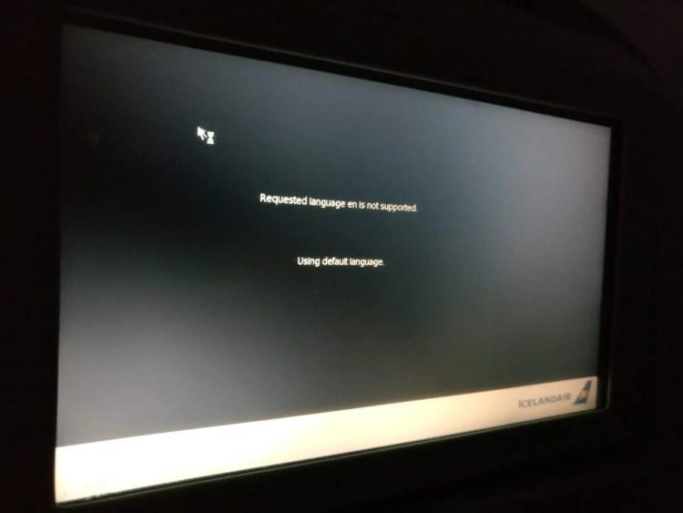 Plane was broken