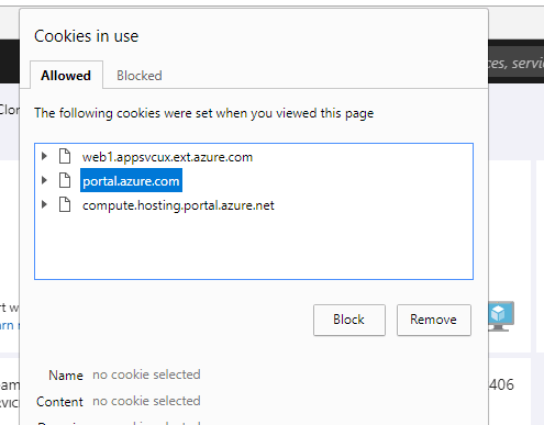 Removing cookies in Chrome