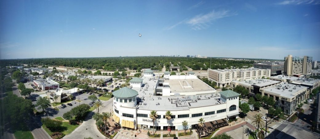 The view from Microsoft's Houston office was great!