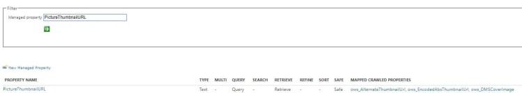 """""""PictureThumbnailURL"""" configuration in SharePoint Online Search Schema"""