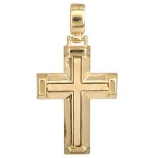 Σταυροί Βάπτισης - Αρραβώνα Χρυσός σταυρός 14Κ 002313 Ανδρικό Χρυσός 14 Καράτια