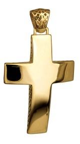 Σταυροί Βάπτισης - Αρραβώνα ΧΡΥΣΟΣ ΣΤΑΥΡΟΣ 14Κ 014708 Ανδρικό Χρυσός 14 Καράτια