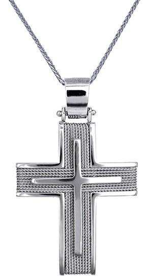 Βαπτιστικοί Σταυροί με Αλυσίδα ΕΙΔΗ ΒΑΠΤΙΣΗΣ - ΣΤΑΥΡΟΙ -ΚΟΣΜΗΜΑΤΑ ONLINE C016565 016565C Ανδρικό Χρυσός 14 Καράτια