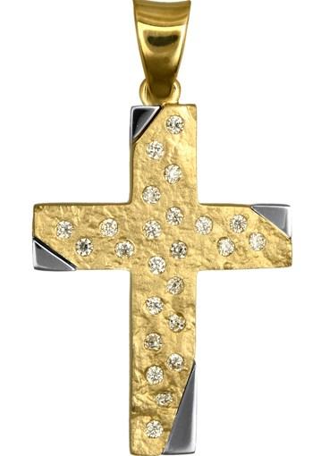 Σταυροί Βάπτισης - Αρραβώνα ΧΡΥΣΑ ΚΟΣΜΗΜΑΤΑ - ΓΥΝΑΙΚΕΙΟΙ ΣΤΑΥΡΟΙ 016617 016617 Γυναικείο Χρυσός 14 Καράτια