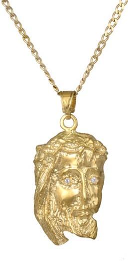 Χρυσό φυλαχτό Κ14 c017490 017490C