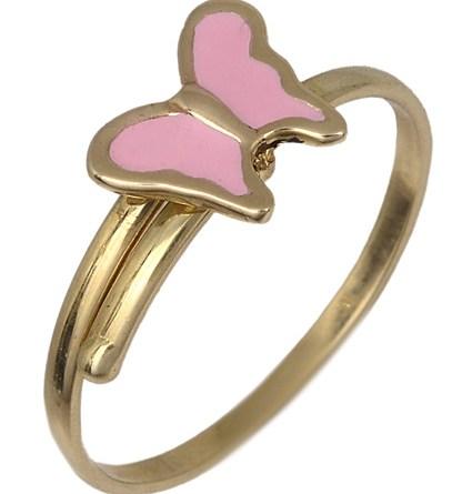 Παιδικό δαχτυλίδι με πεταλούδα 017784 017784