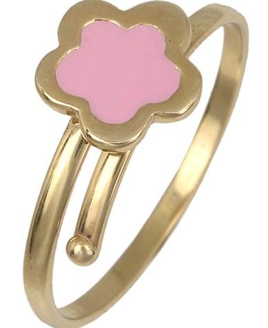 Χρυσό παιδικό δαχτυλίδι 017786 017786