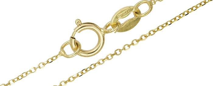 Γυναικεία χρυσή αλυσίδα Κ14 021445 021445 Χρυσός 14 Καράτια