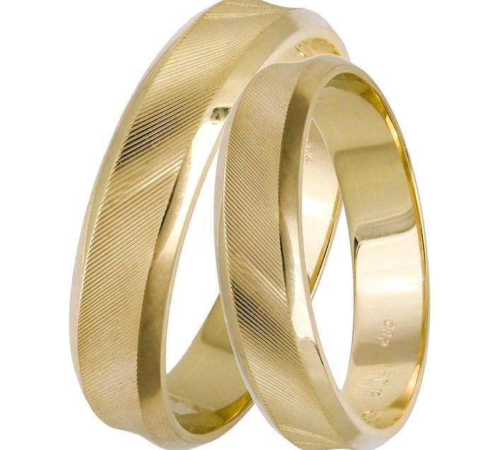 Χρυσές χειροποίητες βέρες 026131 026131 Χρυσός 9 Καράτια