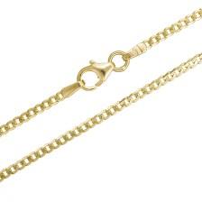 Αντρική αλυσίδα λαιμού Κ14 026346 026346 Χρυσός 14 Καράτια