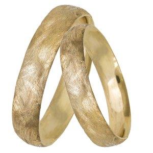 Χρυσές ματ βέρες γάμου Κ14 027417 027417 Χρυσός 14 Καράτια