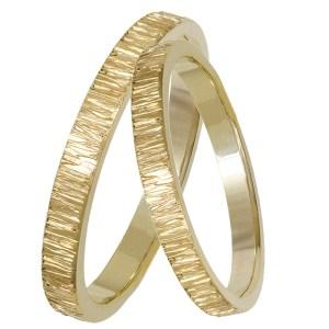 Χρυσές χειροποίητες βέρες Κ14 029334 029334 Χρυσός 14 Καράτια
