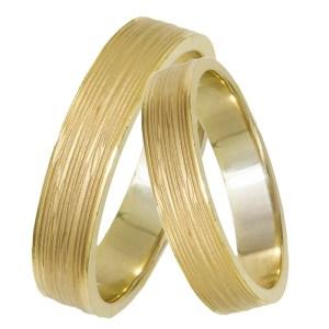 Χρυσές βέρες ματ Κ14 029335 029335 Χρυσός 14 Καράτια