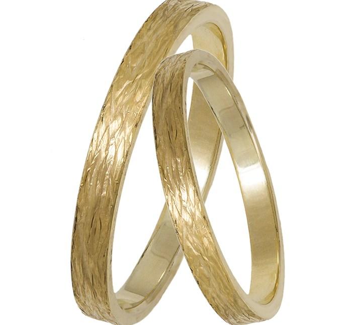Χρυσές βέρες γάμου Κ14 029338 029338 Χρυσός 14 Καράτια