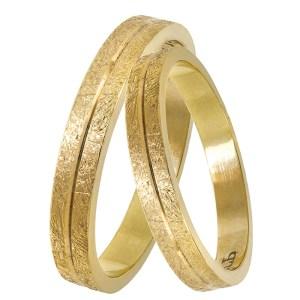 Χρυσές βέρες γάμου - αρραβώνα Κ14 029339 029339 Χρυσός 14 Καράτια