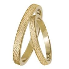Χειροποίητες βέρες γάμου Κ14 029340 029340 Χρυσός 14 Καράτια