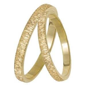 Χρυσές ανάγλυφες βέρες Κ14 029343 029343 Χρυσός 14 Καράτια