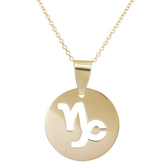 Χρυσό κολιέ Κ14 Αιγόκερως 029565 029565 Χρυσός 14 Καράτια
