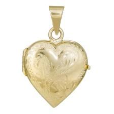 Μενταγιόν ανοιγόμενη καρδιά Κ14 030263 030263 Χρυσός 14 Καράτια