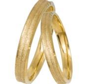 Διαμανταρισμένες χρυσές βέρες Κ14 031415 031415 Χρυσός 14 Καράτια μεμονωμένο τεμάχιο