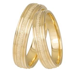 Χειροποίητες βέρες Κ14 χρυσές 031430 031430 Χρυσός 14 Καράτια μεμονωμένο τεμάχιο