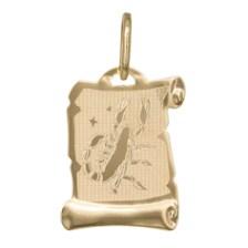 Χρυσό κρεμαστό Κ14 ζώδιο Σκορπιός 031959 031959 Χρυσός 14 Καράτια